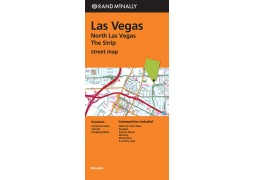 Las Vegas Strip Map, North Las Vegas and Vegas Street Map by Rand McNally