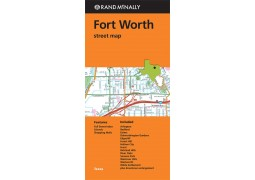 Forth Worth Street Map Texas by Rand McNally