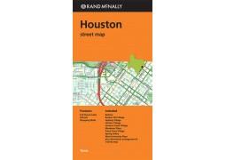 Houston Street Map by Rand McNally