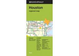 Houston Regional Map by Rand McNally