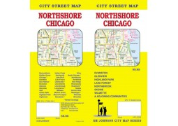 Northshore Chicago City Street Map