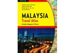 Malaysia, Travel Atlas by Periplus Editions, Tuttle