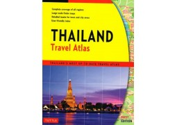 Thailand, Travel Atlas by Tuttle, Periplus Editions