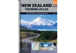 New Zealand Touring Atlas by Hema Maps