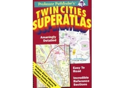 Twin Cities, Minnesota SuperAtlas by Hedberg Maps