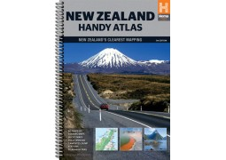New Zealand Handy Atlas by Hema Maps
