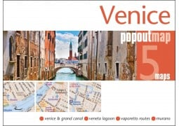 Venice, Italy, PopOut Map by PopOut Products