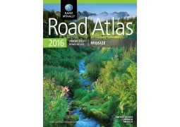 United States, Canada and Mexico Midsize Road Atlas by Rand McNally
