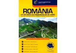 Romania, Road Atlas by Cartographia