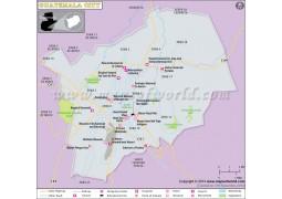 Guatemala City Map - Digital File