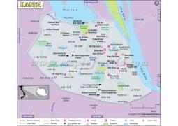 Hanoi Map - Digital File
