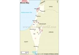 Israel Mineral Map - Digital File