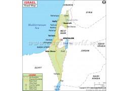 Israel Road Map - Digital File