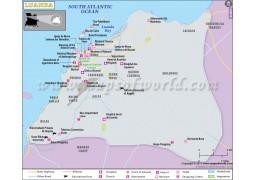 Luanda Map - Digital File