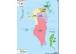 BahrainPolitical Map - Digital File
