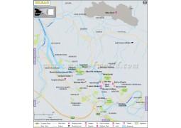 Bilbao City Map - Digital File