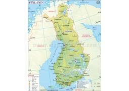 Finland Map - Digital File