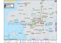 Gothenburg City Map - Digital File