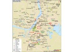 Kolkata Map - Digital File