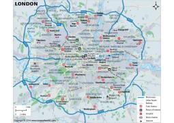 London Map - Digital File