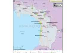 Thessaloniki Map - Digital File