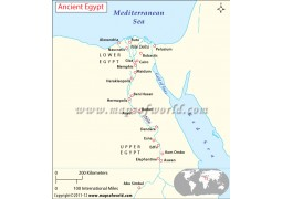 Map of Ancient Egypt - Digital File
