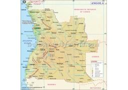 Angola Map - Digital File