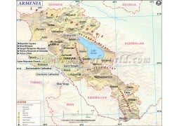 Armenia Map - Digital File
