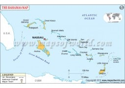 Bahamas Map Map of Bahamas