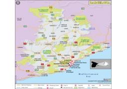 Barcelona City Map - Digital File