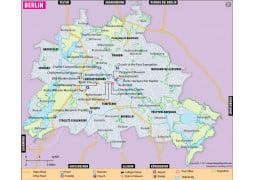 Berlin City Map - Digital File