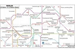 Berlin Metro Map - Digital File