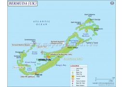 Bermuda Map - Digital File