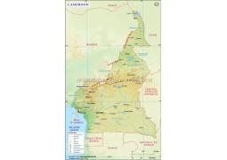 Cameroon Map - Digital File