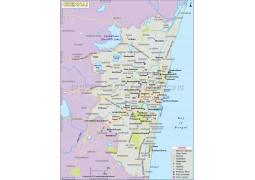 Chennai Map - Digital File