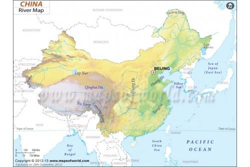China River Map