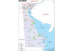 Map of Delaware - Digital File