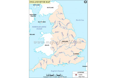 England River Map