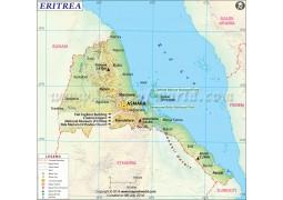 Eritrea Map - Digital File