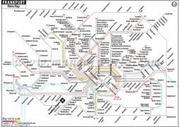 Frankfurt Metro Map - Digital File