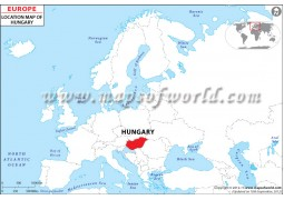 Hungary Location Map - Digital File
