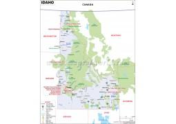 Map of Idaho - Digital File