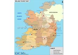 Ireland Tourist Map - Digital File