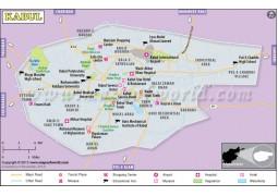 Kabul Map - Digital File