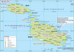 Malta Map - Digital File