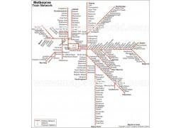 Melbourne Metro Map - Digital File
