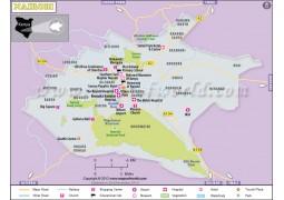 Nairobi Map - Digital File