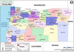 Oregon County Map