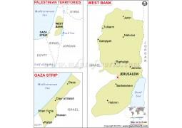 Palestine Map - Digital File