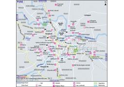 Pune Map - Digital File